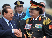 Les Libyens mitraillent un bateau italien et s'excusent ! Affaire close.