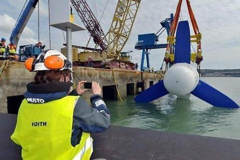 Intérêt de la France aux énergies marines