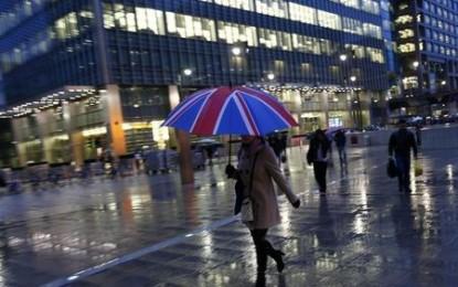Grande-Bretagne  Croissance positive du PIB