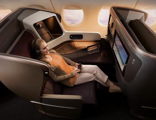 Singapour : Nouveaux salons de Singapore Airlines