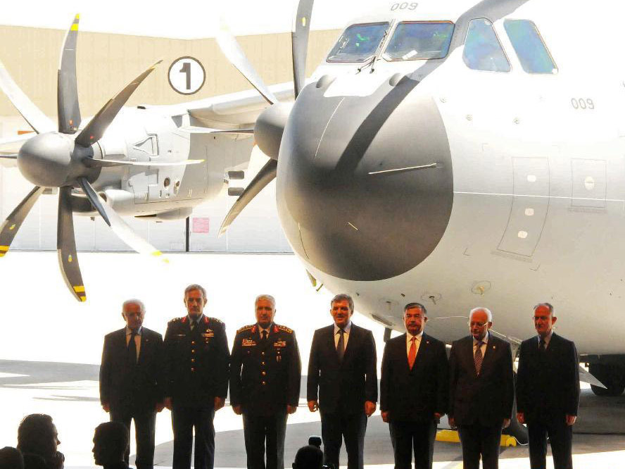 Turquie : Mise en service du premier Airbus A400M
