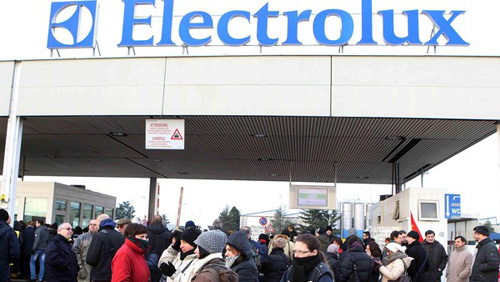 Italie : Règlement du conflit à Electrolux