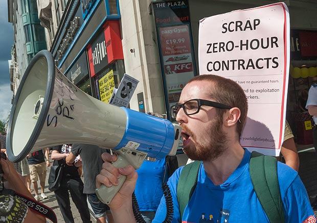 Grande-Bretagne : Mécontentement sur les contrats « zéro heure »