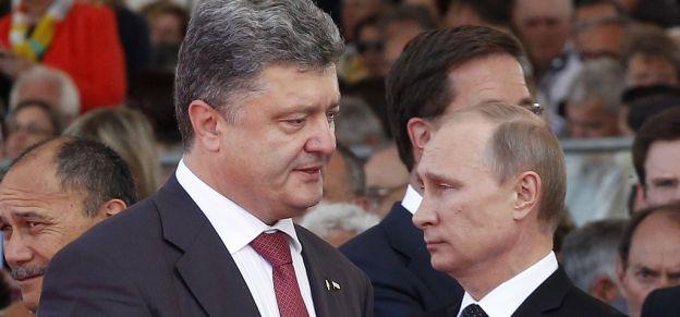 Ukraine : Accord entre Poutine et Porochenko pour le dialogue