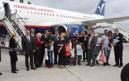 L'Allemagne offre l'accueil à 20 000 Syriens