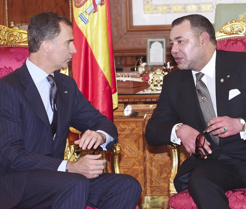Le roi Felipe VI d'Espagne au Maroc