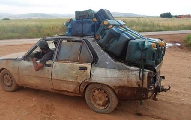 Algérie : Lutte contre la contrebande du carburant vers le Maroc