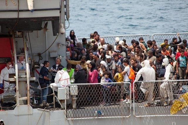 Italie : Des milliers de réfugiés et migrants secourus