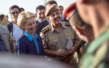 L'Allemagne arme les Kurdes irakiens