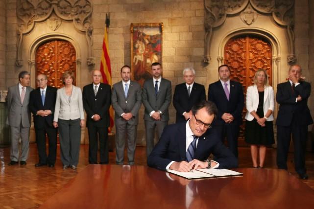 Espagne : Le gouvernement face au référendum sur l'indépendance de la Catalogne