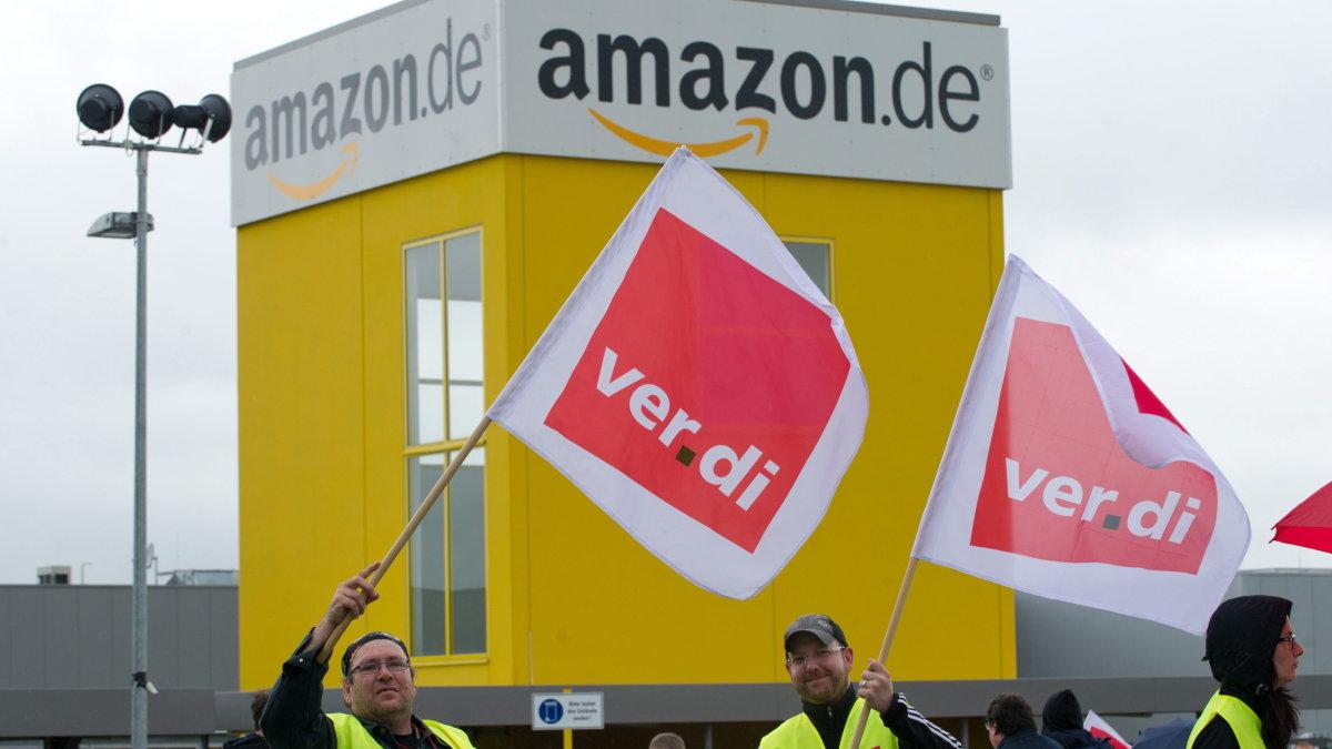 Allemagne : Grève des employés d'Amazon