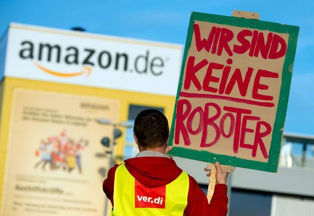 Allemagne : Nouvelle grève des salariés d'Amazon