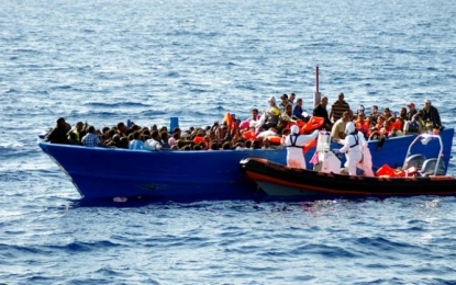 Libye – Italie : Des centaines de migrants secourus en mer