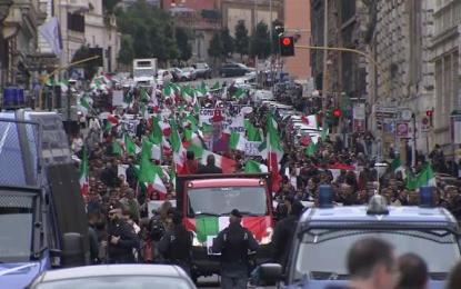Italie : Manifestations anti-immigration