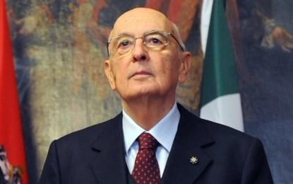Italie : Le président Napolitano sur le point de démissionner