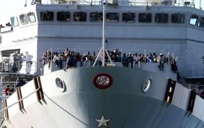 Italie : Fin de la mission de l'opération Mare Nostrum