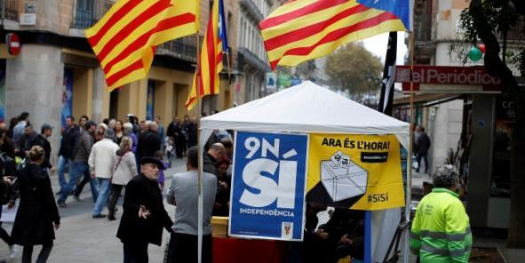Espagne : Vote favorable à l'indépendance de la Catalogne