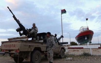 Libye : Violents combats aux alentours du port d'Al-Sedra