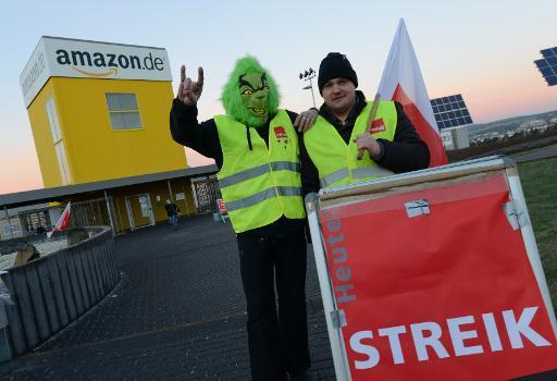 Allemagne : Nouvelle grève chez Amazon