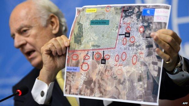 Syrie : Soutien de l'UE au plan de paix de l'émissaire de l'ONU