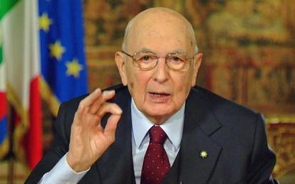 Italie : Démission du président Giorgio Napolitano
