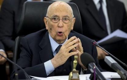 Italie : Le président Giorgio Napolitano annonce sa démission