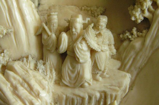 Chine: un an d'interdiction d'importation d'ivoire sculpté