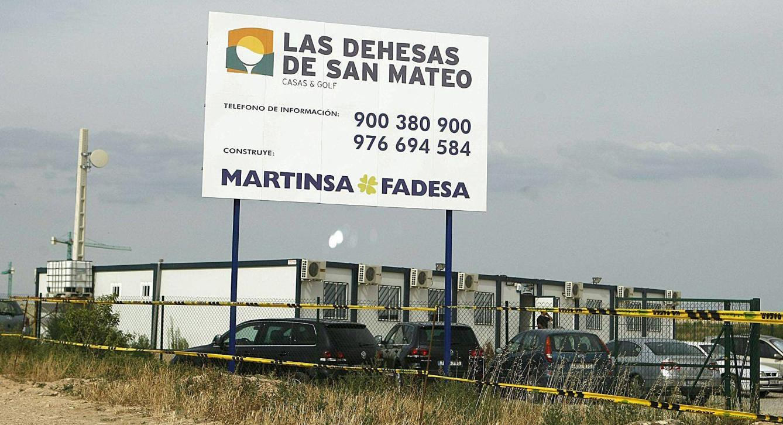 Espagne : Faillite du promoteur immobilier Martinsa-Fadesa