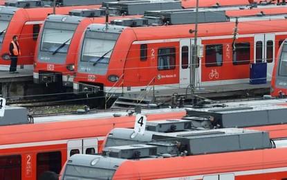 Allemagne : les conducteurs de train en grève