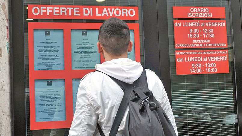 Italie : nouvelle hausse du chômage