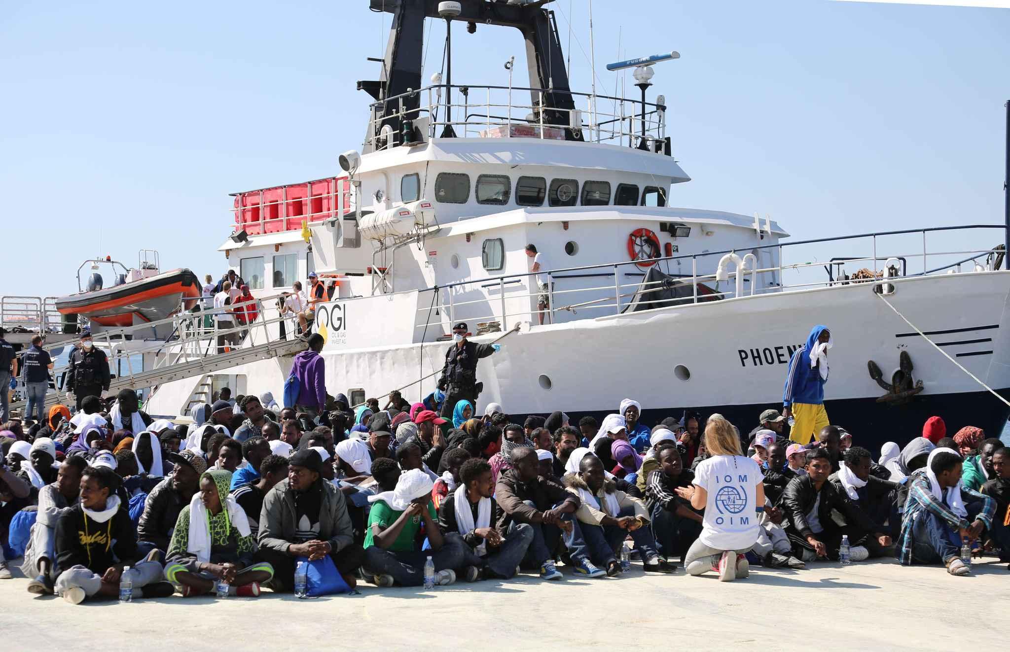 Italie : plus d'implication européenne dans le sauvetage des migrants