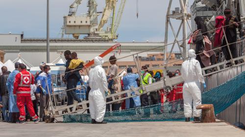 Italie : plus de 50 000 migrants accueillis en 2015