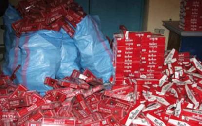 Egypte : d'importantes saisies de cigarettes