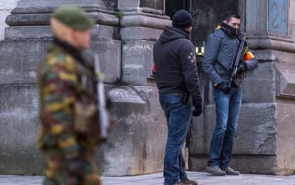 Belgique : bond des arrestations des personnes suspectées de terrorisme