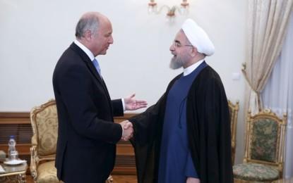 La France et l'Iran enterrent la hache de guerre
