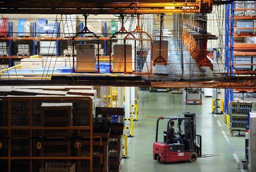 Italie : la production industrielle en baisse