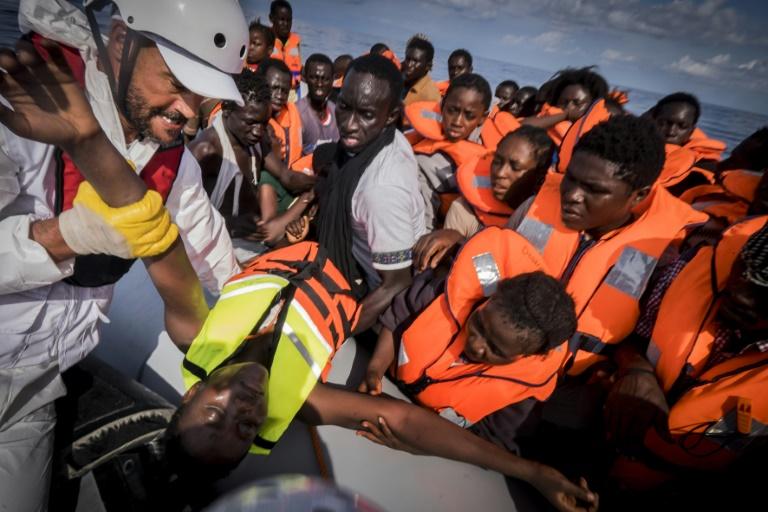 Nouvelles opérations de sauvetage de migrants au large de la Libye