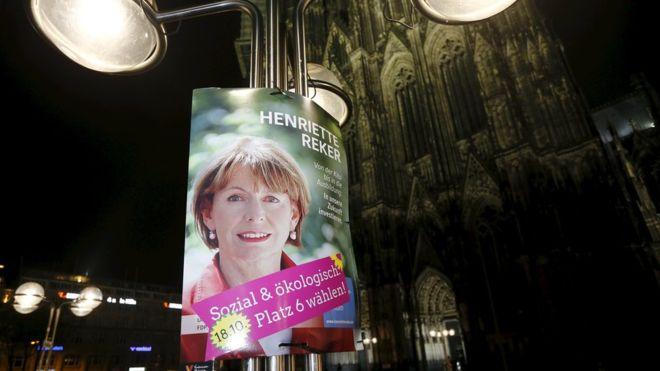 Allemagne : une candidate à la mairie de Cologne poignardée