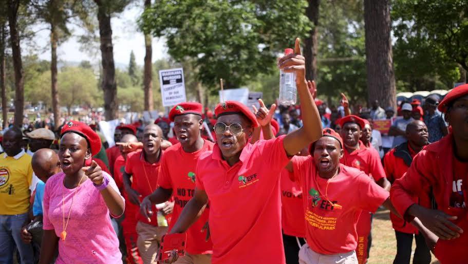 Afrique du Sud : manifestation anti-corruption à Johannesburg