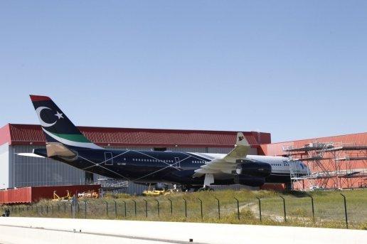 La propriété de l'avion de luxe de Mouammar Kadhafi fait débat en justice