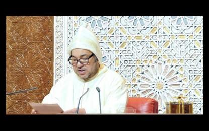 Le roi Mohammed VI appelle les politiques à s'élever au-dessus des luttes marginales