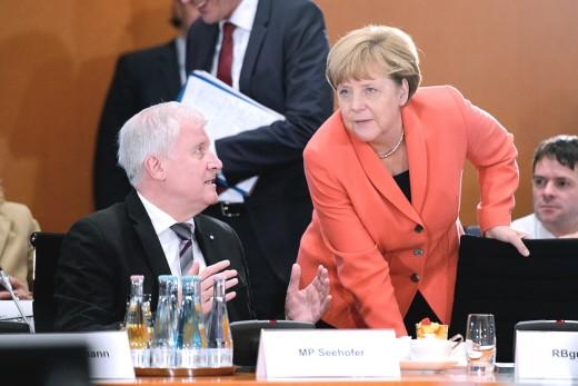 Horst-Seehofer-Angela-Merkel