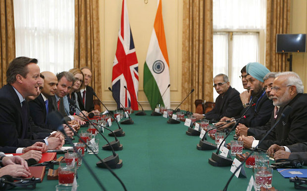 La Grande-Bretagne signe 12 milliards d'euros de contrats avec l'Inde