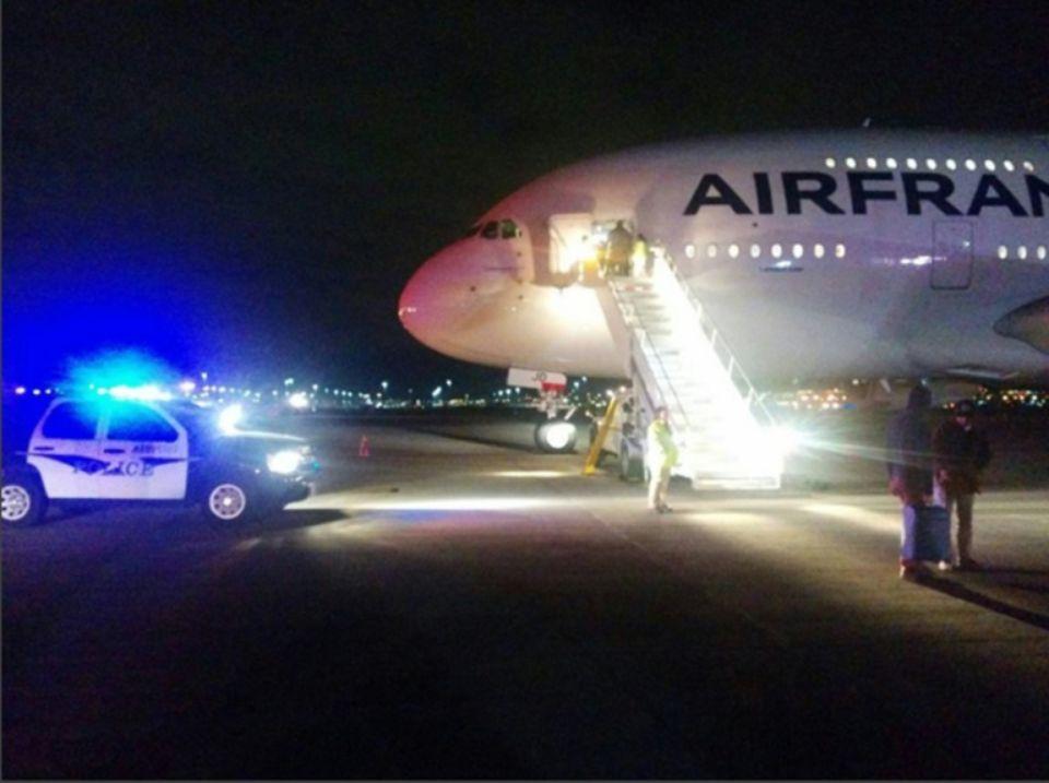 Deux vols d'Air France déroutés suite à une alerte à la bombe
