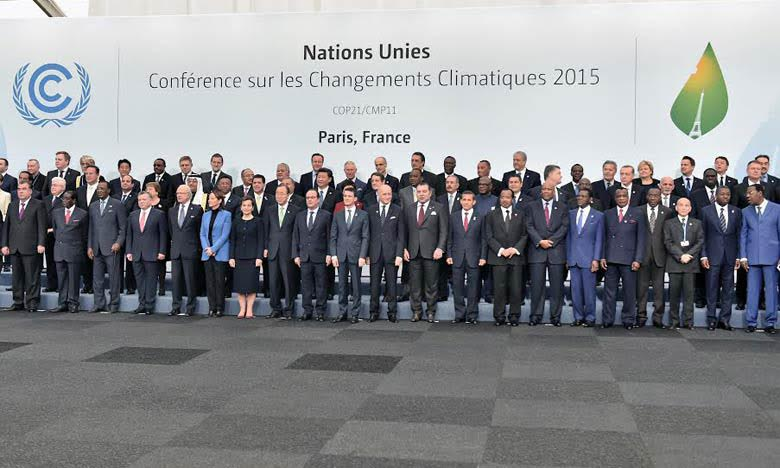 COP21 : Mohammed VI défend un « consensus international authentique et inclusif »