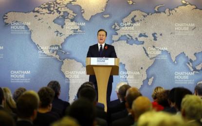 David Cameron détaille ses propositions de réformes de l'Union européenne
