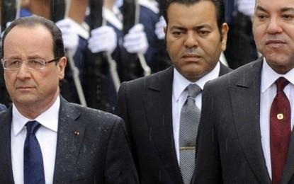 France- attentats: solidarité et soutien du roi Mohammed VI à François Hollande