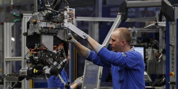 Allemagne : encore une baisse des commandes à l'industrie manufacturière