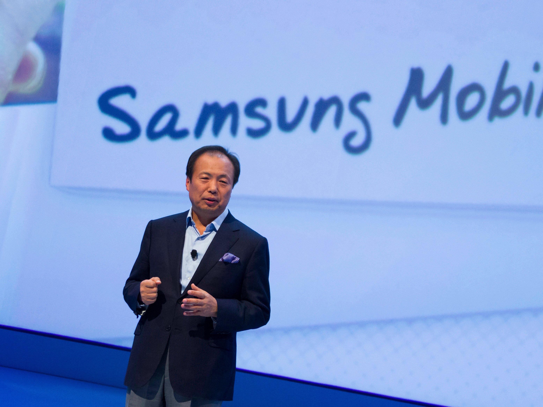 Samsung change la direction de sa division mobile