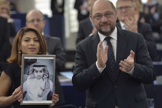 Arabie Saoudite : Raef Badaoui, lauréat du prix Sakharov du Parlement européen
